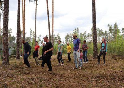 Тенсегрити Партизаны В Житомирских Лесах