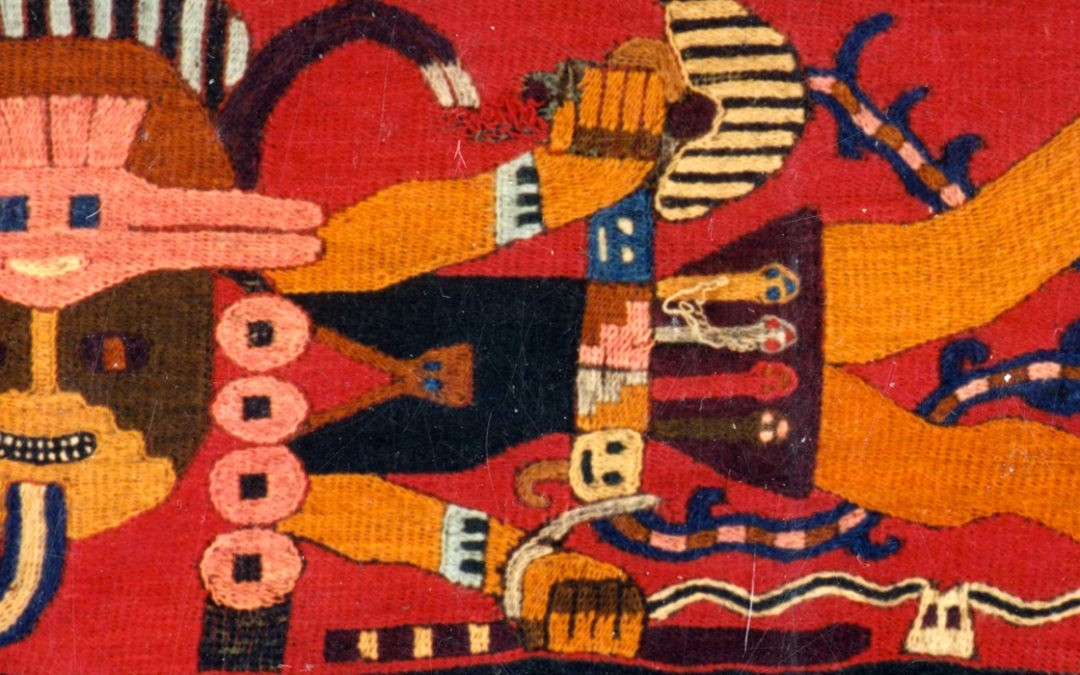 Древние магические геоглифы в пустыне Наска