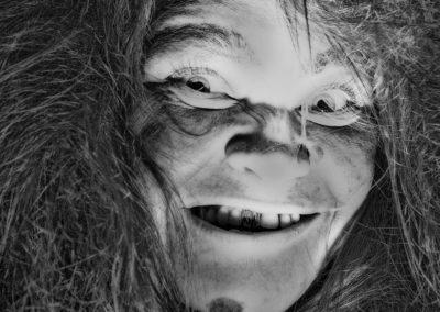 Флоринда Доннер-Грау И Женщина С Огромными Зубами