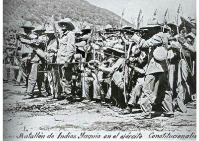 Индейцы Яки. История Войны